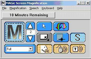 Magnificador de pantalla Magic